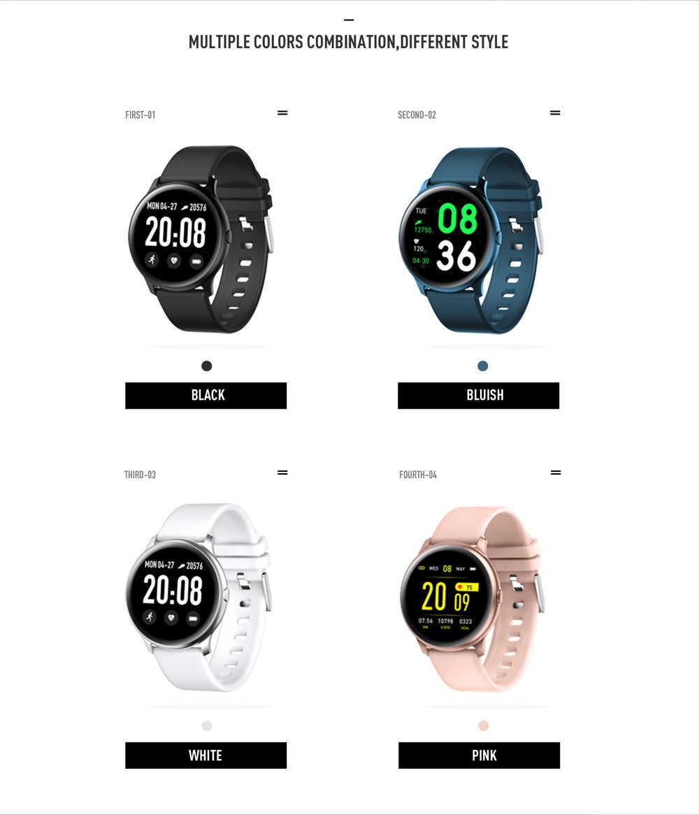 LUIK Fashion Sport Smart Horloge Mannen Vrouwen Fitness tracker man hartslagmeter bloeddruk functie smartwatch Voor iPhone