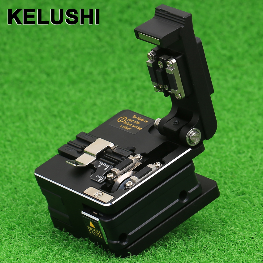 KELUSHI FTTH High Precision Cutting Tool SKL-S2 Optical Fiber Cleaver Cable Cutting Knife Fiber Cleaver