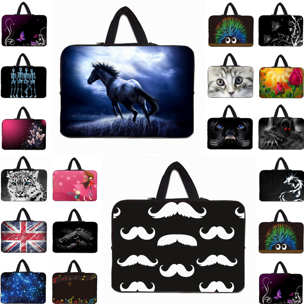 Neopren Laptop Tragen Handtasche Fall Für 13 14 15 17 Macbook Air Acer Sony Für Chuwi Hallo 10,0 12 <font><b>Xiaomi</b></font> <font><b>notebook</b></font> Chromebook <font><b>Funda</b></font> image