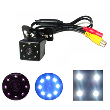 Car Universal Reversing Camera 12LED Infrared Night Vision Automatic Parking Monitor Front/Back Rear View Camera