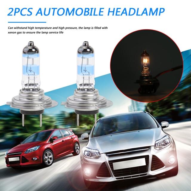 2Pcs H7 Halogeen Lamp Voor Auto Koplamp Koplamp Mistlamp 12V 110W Auto Licht Voor Bron Turn signaal/Rem/Achterlichten
