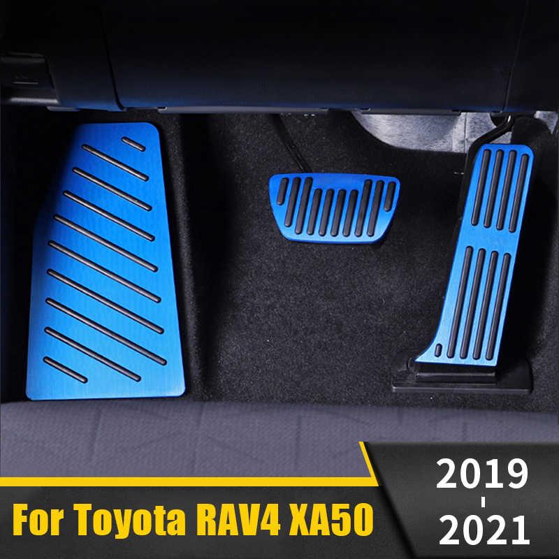 FairOnly Pedal de Freno y Pedal de Acelerador aplicable a TO-YOTA 2020 RAV4 Pedal de pie de Metal Conveniente Vida