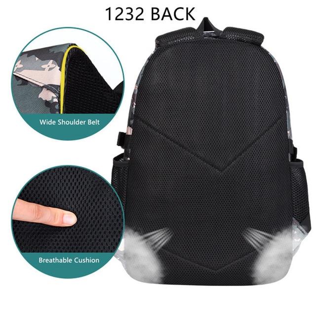 Fengdong primary school bags for boys waterproof bookbag camouflage backpack pen pencil case primary student boy school backpack 3