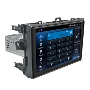"Image 3 - 9 ""Android10 oto araba radyo Stereo GPS navigasyon multimedya oynatıcı Toyota Corolla için E140/150 2008 2009 2010 2011 2012 2013"