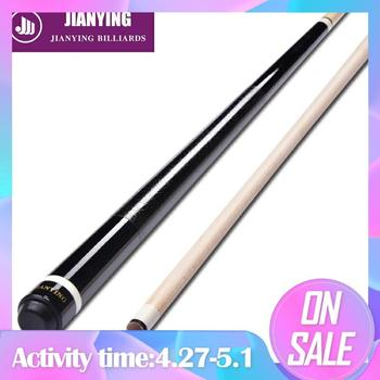 Original Jianying PC 08 Pool Cue 12.75mm Tip Fiber Ferrule Hard Maple Cue Stick Professional billard  Technologia Grain Grip