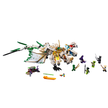 1100pcs Ninja mirage ultimate dragon complex compatible legoigey ninjagoes Building Blocks Bricks Toys Action Figures Toys Gifts