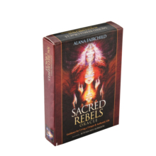 Sacred Rebels Oracle Deck Tarot Deck Cards Game Green Witch Tarot Table Card Board Games Party Playing Cards Deck Family Games gypsy witch fortune telling playing cards