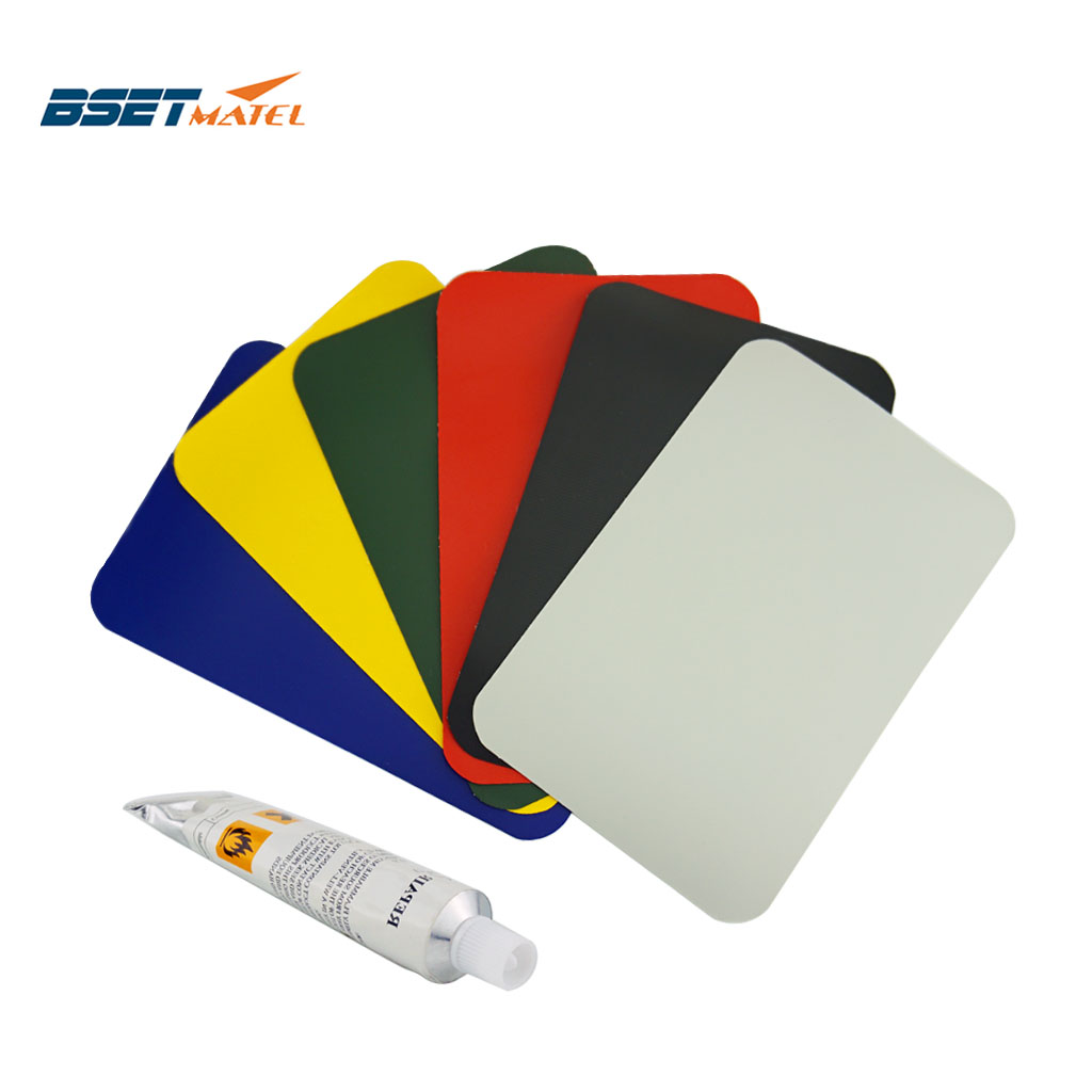 200*130mm Inflatable Plastic Boat Kayak Special PVC Repair Patch Kit Waterproof Patch Glue Rib Canoe Dinghy Air Bed With Glue