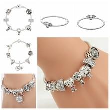 bijoux Harries Magic Bracelet Potter Magical School Pendant Jewelry Stationery Birthday Gift Children Figure Toy Woman Fashion