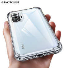 Luxury Clear Shockproof Phone Case For Xiaomi Redmi Note 9 10 8 7 6 Pro Max 9A 8A 7A