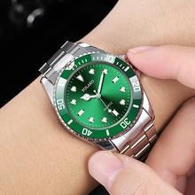 купить Mens Fashion Watches Top Brand Luxury Rolex_Watch In Quartz Wristwatches Full Steel Waterproof Business Men Clock reloj hombre дешево