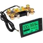 HHO TF03 100V 500A Универсальный Батарея Ёмкость тестер Напряжение индикатор Тока Панель кулона метр кулонометр