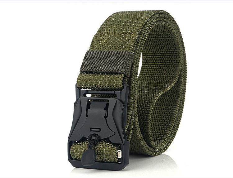 Hdd2dd9ce075d4dd39e7ec202042a769at - HSSEE New Mens Tactical Belt Hard Metal Quick Release Magnetic Buckle Mens Military Nylon Belt 3mm Soft Real Nylon Sports Belt