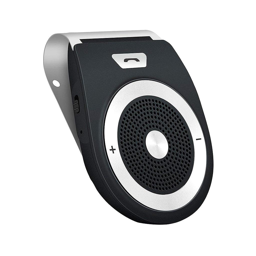 Wireless Bluetooth Handsfree Speaker Phone MP3 Car Kit Sun Visor Clip Drive NEW