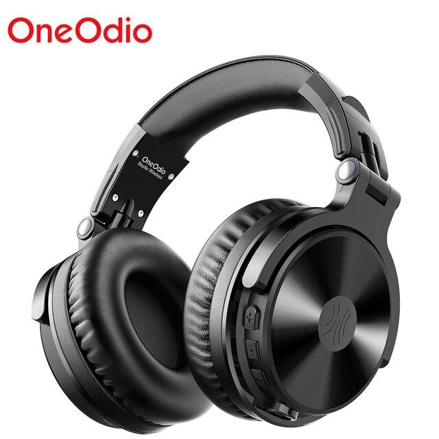 Oneodio Bluetooth V5.0 наушники DJ беспроводные/проводные наушники беспроводные стерео беспроводные + Проводная гарнитура для телефонов ПК новинка