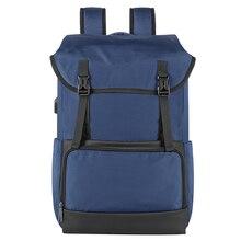 цена Tigernu New Fashion Laptop Backpack Draw Pocket USB Charging Travel School Sport Waterproof Backpack Male Female Bag Pack онлайн в 2017 году