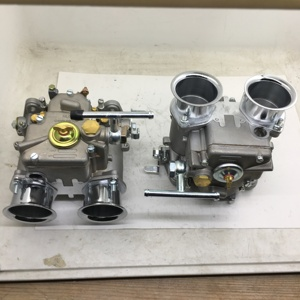 Image 5 - SherryBerg (2x) 45 Dcoe 152 Twin carburetor with air horns for Toyota 22R 1981 1984 Pickup Weber Solex dellorto CARBY