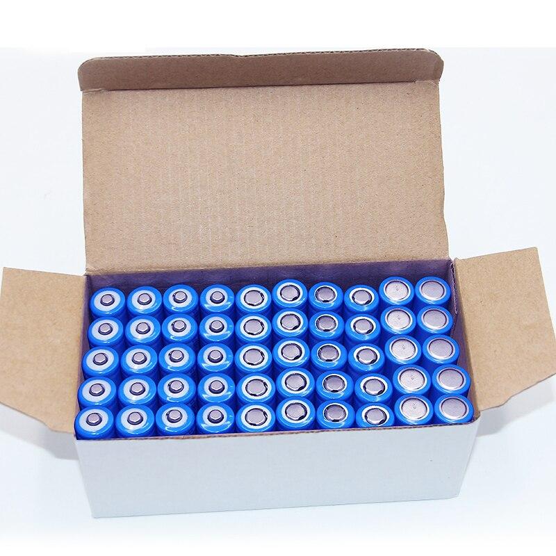 Venda quente 50 peças por lote caixa ICR 18650 3.7v 2600mah baterias de lítio li-ion para ferramentas elétricas livre grátis