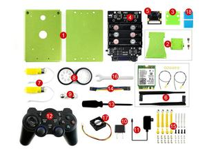 Image 5 - JetBot AI Kit Accessories, Add ons for Jetson Nano to Build JetBot