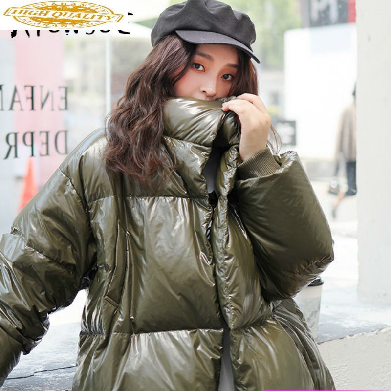 90% White Duck Down Jacket Women Korean Short Winter Jacket Women Down Coat Warm Parka Puffer Jacket YA61U0400-1 YY1592