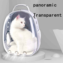 Hot Sale Portable Pet Cat Carrier Bag Transparent Capsule Breathable Carry Travel Dog Backpack Kitten Carrying Cages