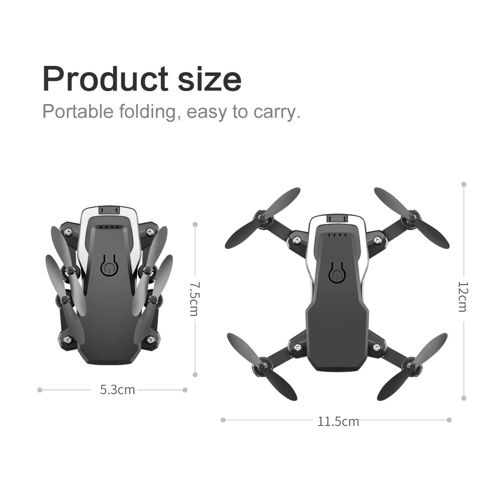 LF606 RC Quadcopter Foldable FPV 4K HD Camera Drone With Altitude Hold Function and Wifi 5
