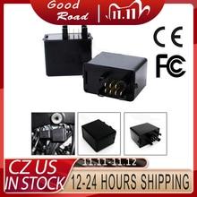 12v 7 pino sinal de volta led flasher relé para suzuki gsxr gsf gsx hayabusa