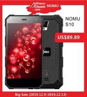IP68 NOMU S10 4G Smartphone 5.0'' Android 7.0 MTK6737VWT Quad Core 1.5GHz 2GB RAM 16GB ROM 8.0MP Rear Camera 5000mAh Cellphones