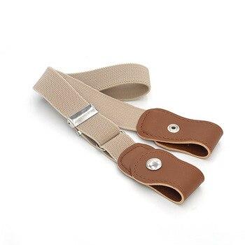 New hot sale children's elastic waist belt belt men and women youth elastic belt pants belt adjustable long belt belt matilde costa belt