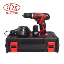 DS Home Electric screwdriver tool 12v rechargeable-lithium battery DS10BH-LI Hand-Held Drill Power Tools 700 rpm 24N/M