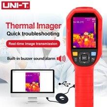 UNI T UTi165H الأشعة تحت الحمراء الحرارية تصوير 30 درجة مئوية ~ 45 درجة مئوية الحرارة كاميرا تصوير حراري كشف درجة الحرارة
