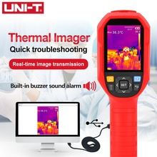 UNI T UTi85H + Infrarood Warmtebeeldcamera 30 ˚ C ~ 45 ˚ C Thermometer Warmtebeeldcamera Temperatuur Detectie