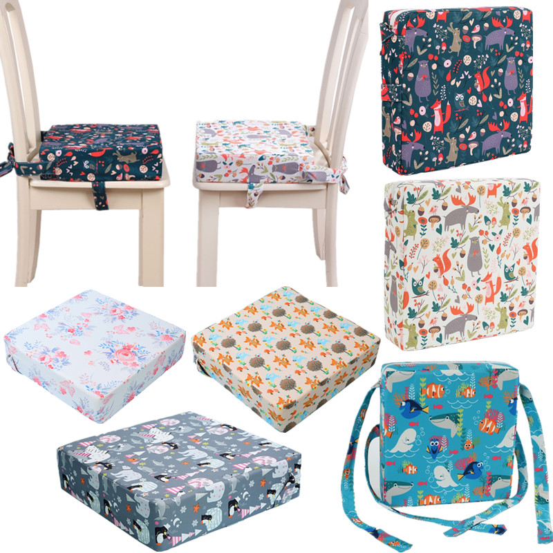 Переносной усилитель для детского стула, регулируемая съемная моющаяся утолщенная поролоновая подушка для детского стула для кормления малышей 1
