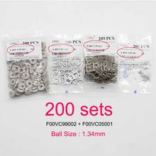 F00vc99002 diesel injector válvula kits de reparo aço bola f00vc05001 1.34mm kit de bola injector combustível para bosch erikc atacado