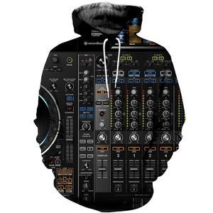 PLstar Cosmos Ableton Live толстовки с круглым вырезом 2019 модная одежда Pioneer DJ Толстовка DJ disco Мужская Женская толстовка с капюшоном в стиле хип-хоп