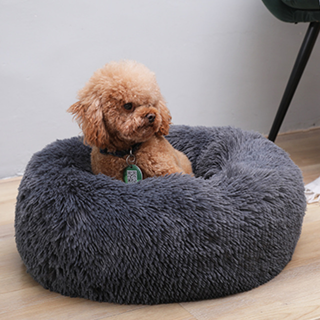 Comfortable Cat and Dog Beds Relaxing Washable Pet Plush Bed