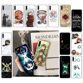 eternally Hogwart Comic design Cartoon Anti-fall Phone Case For Samsung Galaxy Note 20 10 plus pro lite ultra Harris Potter image