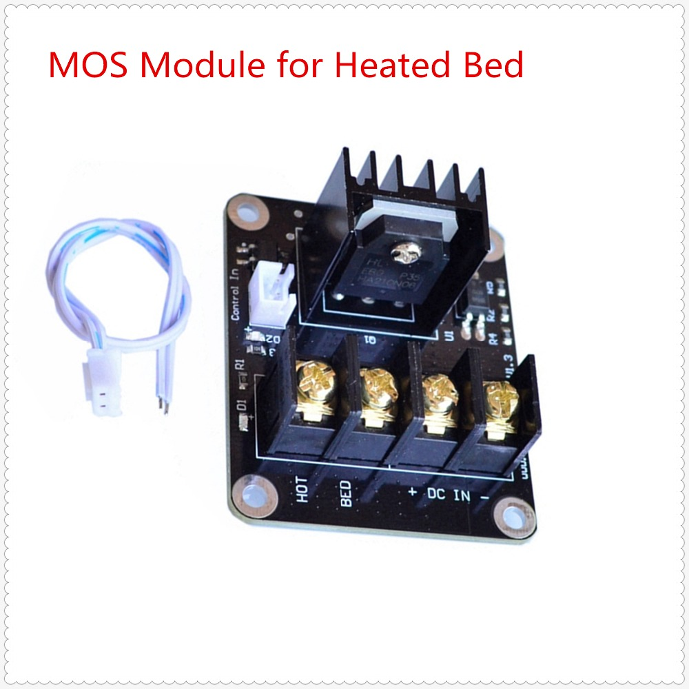 3d printer mosfet MOS heating controller for heated plate MOS module MOSFETs high current transistor