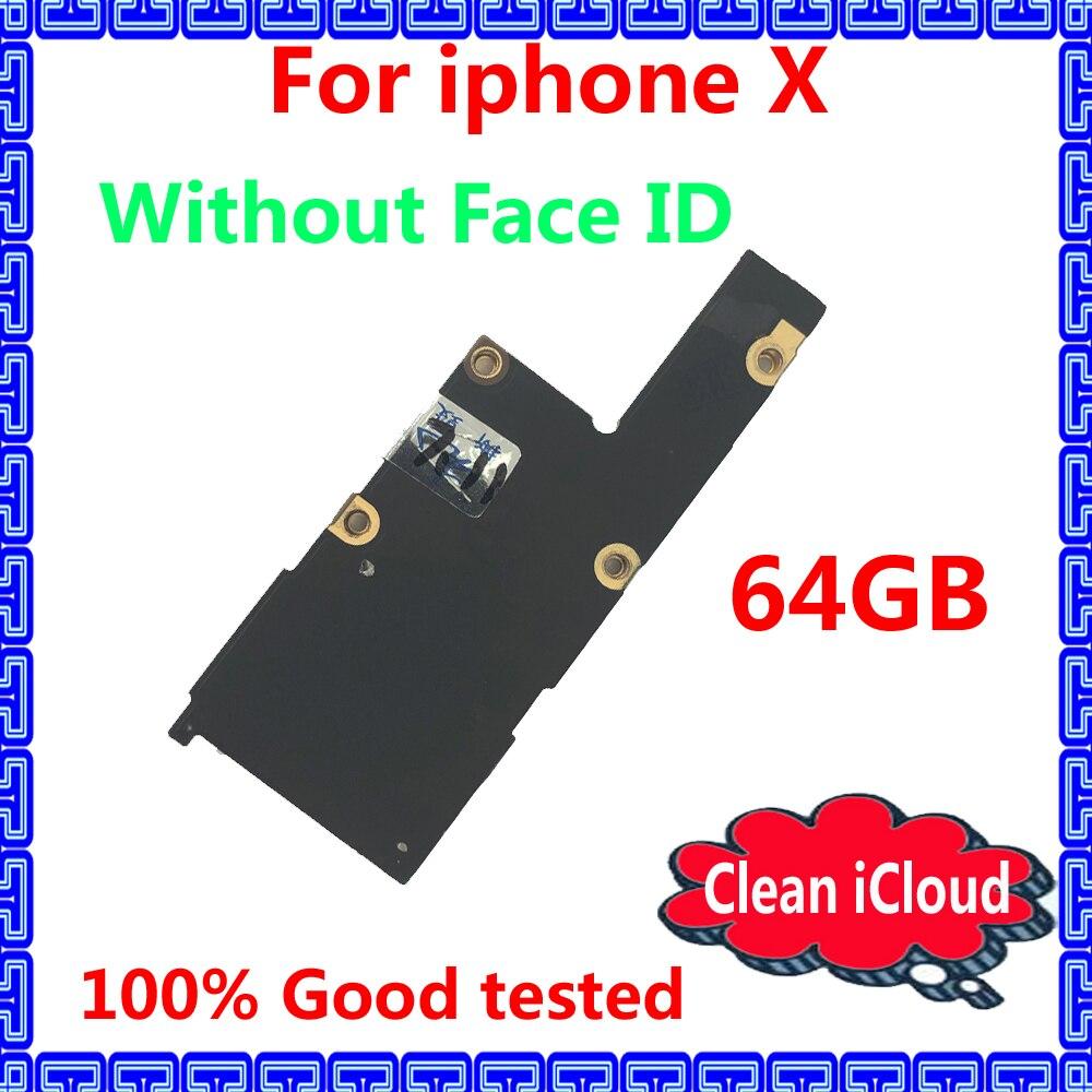 Без лица ID оригинальная материнская плата для iphone X разблокированная iCloud IOS системная логическая плата с чипами 100% Хорошая рабочая материнская плата|Антенны для мобильных телефонов| | АлиЭкспресс