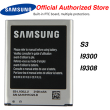 цена на Original Samsung EB-L1G6LLU Battery For Samsung I9300 GALAXY S3 I9308 I535 L710 with NFC 2100mAh
