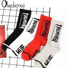 2019 Fashion Popular hip-hop mens socks cotton skateboard tide brand sports good quality