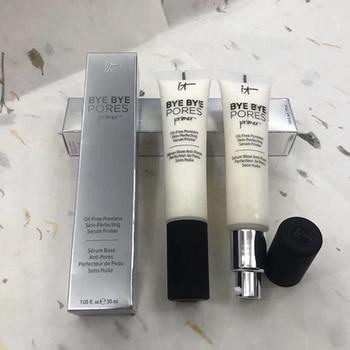 It Cosmetics Makeup Primer Cream Bye Bye Pore Moisturizing Hydration Oil-Control Eyes Skin Brighten Base Maquillas MakeUp 1
