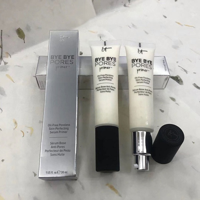 It Cosmetics Makeup Primer Cream Bye Bye Pore Moisturizing Hydration Oil-Control Eyes Skin Brighten Base Maquillas MakeUp