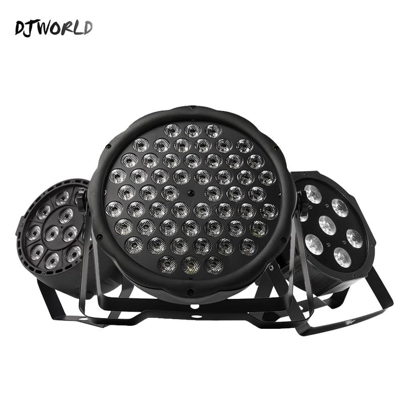 Djworld Top Selling LED Par 7x12W /7x18W/ 54x3W/12x3W RGBW/12x3W Ultraviolet Color  Par DMX512  For Disco DJ Party Light KTV