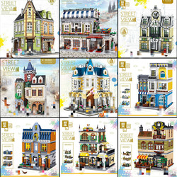 Zhegao QL0919 QL0920 QL0922 QL0923 QL0924 QL0934 QL0935 QL0936 QL0937 Bausteine Komplette Serie Ziegel Spielzeug Auf Lager