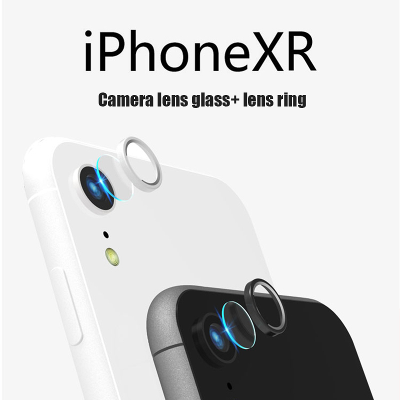 Защитная пленка для объектива из алюминиевого сплава для iPhone XR, высокопрочная Защитная пленка для камеры для iPhone XR