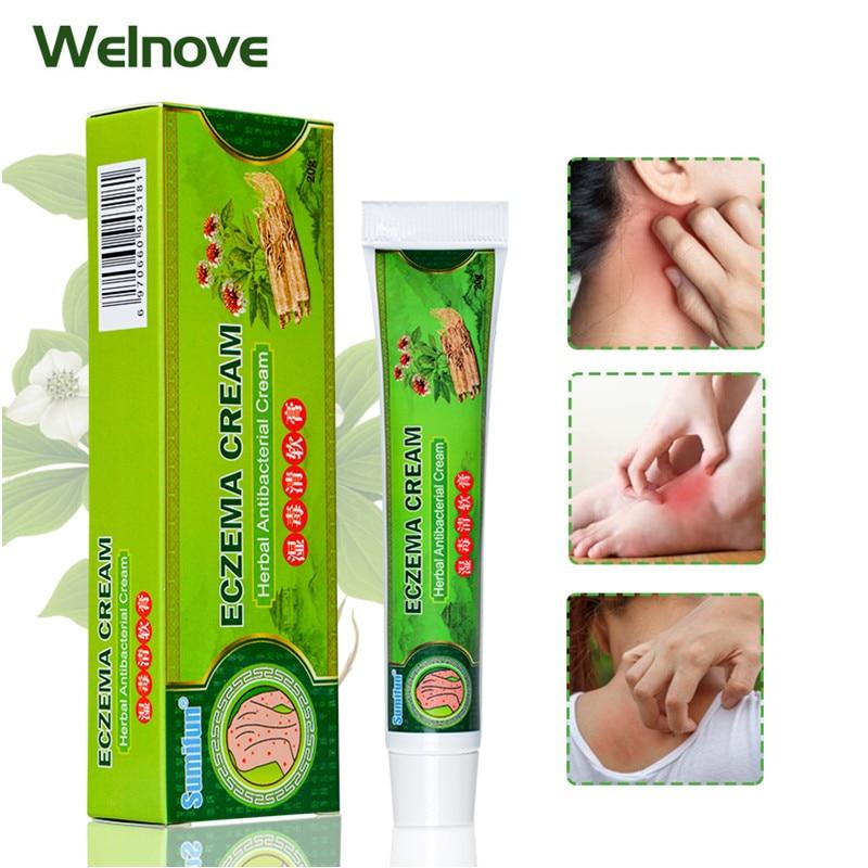 1pcs Eczema Ointment Antibacterial Psoriasis Cream Pruritus Dermatitis Anti Itching Skin Care Herbal Medical Plaster K10002