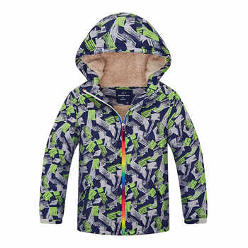 Kids Jacket Coat Boys Girls Autumn Winter Hooded Jacket Child Outwear Sports Waterproof Windproof Thick Warm Coat Children Tops - DISCOUNT ITEM  40% OFF All Category