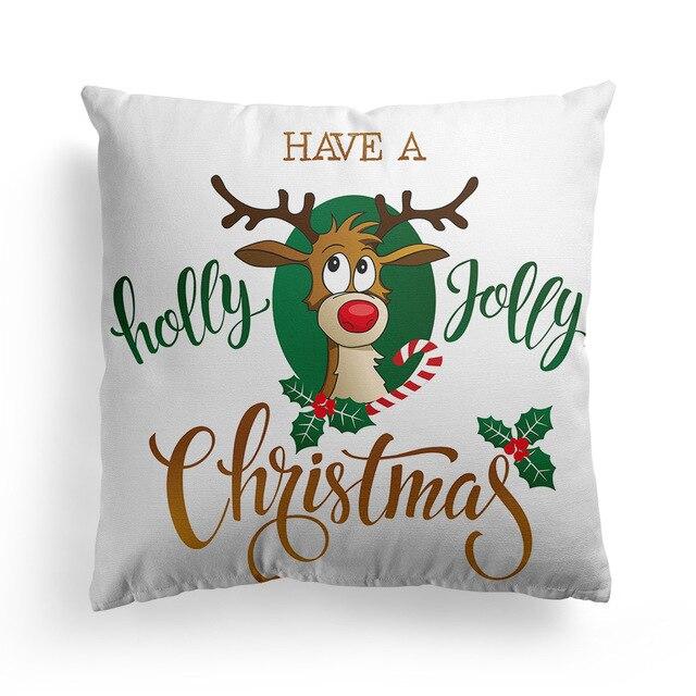 рождественская наволочка для дивана наволочки сиденья автомобиля фотография
