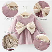 Baby Girls Dress Long Sleeve Christmas Clothes